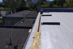 GJGT - oprava strechy telocvične